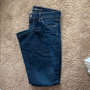 Size 30 Citizens of Humanity straight leg jeans
